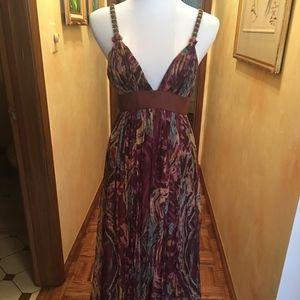 Catherine Malandrino Maxi Dress Bahia Print